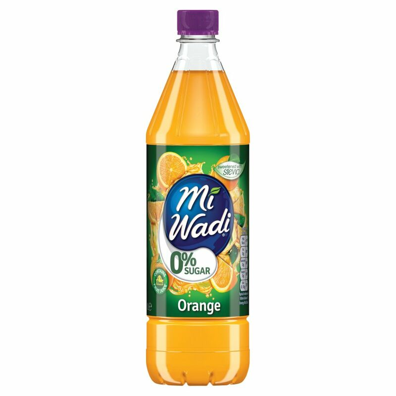 Mi Wadi 0% Sugar Orange 1L
