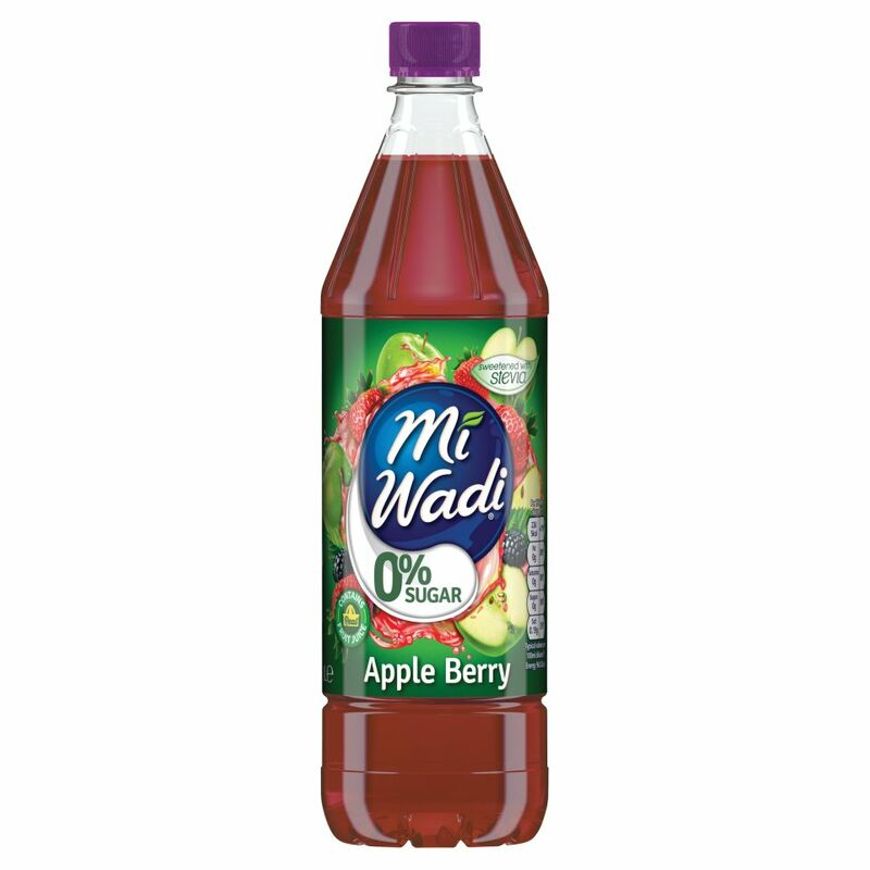 Mi Wadi 0% Sugar Apple Berry 1L