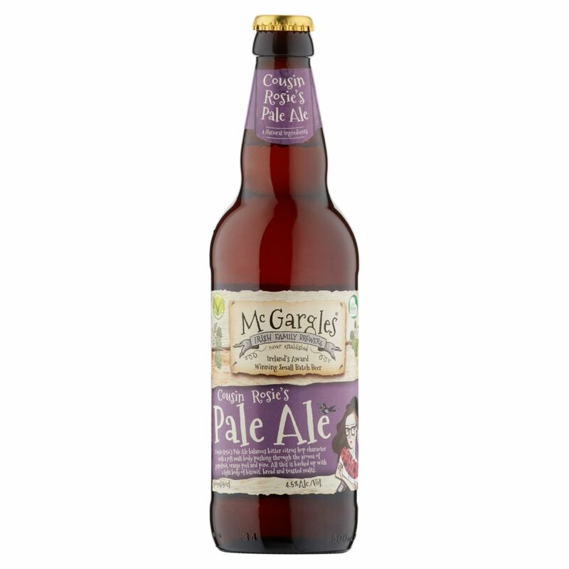 McGargles Cousin Rosie's Pale Ale 500ml