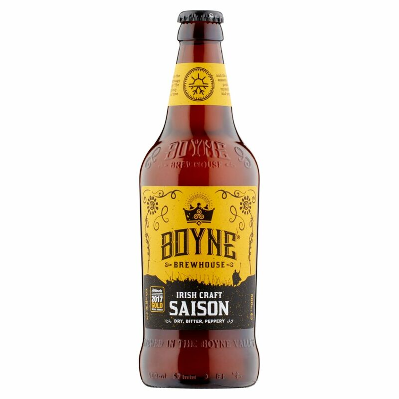 Boyne Brewhouse Irish Craft Saison 500ml