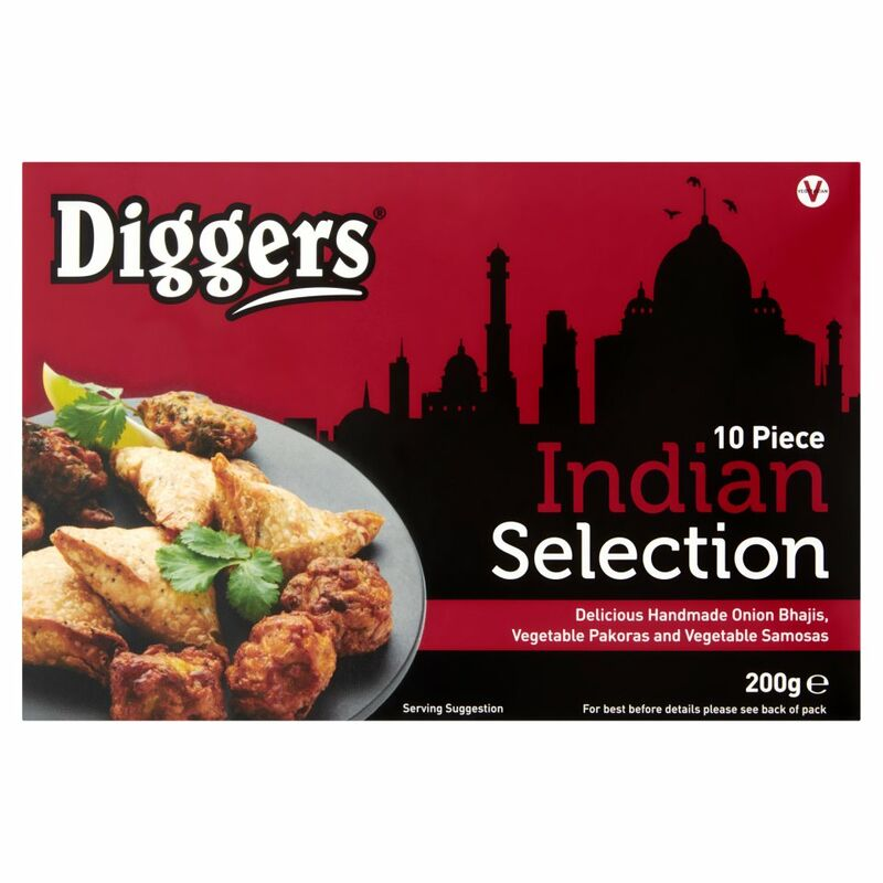 Diggers 10 Indian Selection 200g