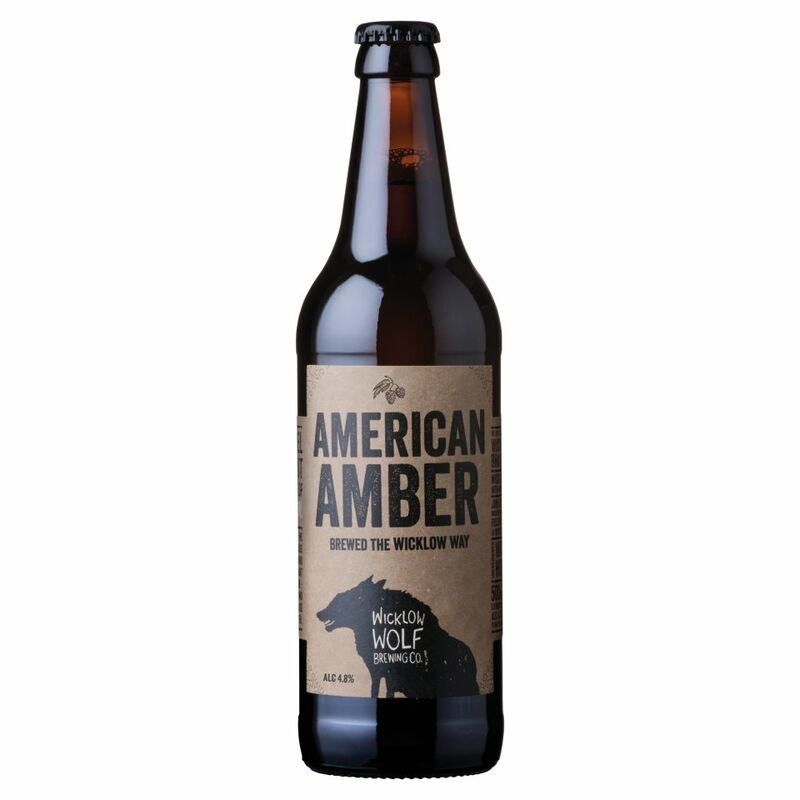 Wicklow Wolf Brewing Co. American Amber 500ml