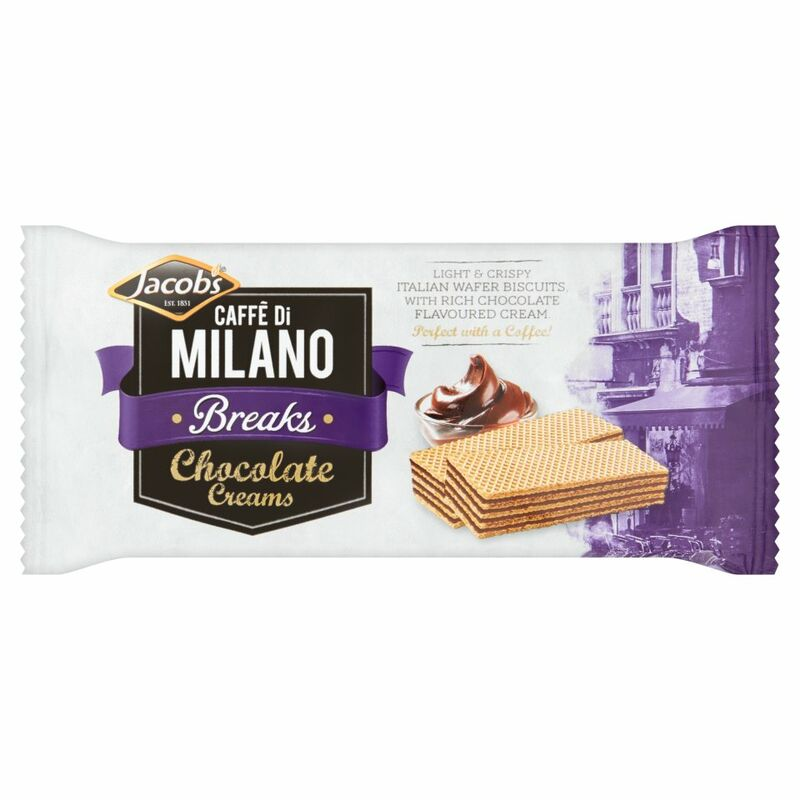 Jacob's Caffé Di Milano Breaks Chocolate Creams 45g