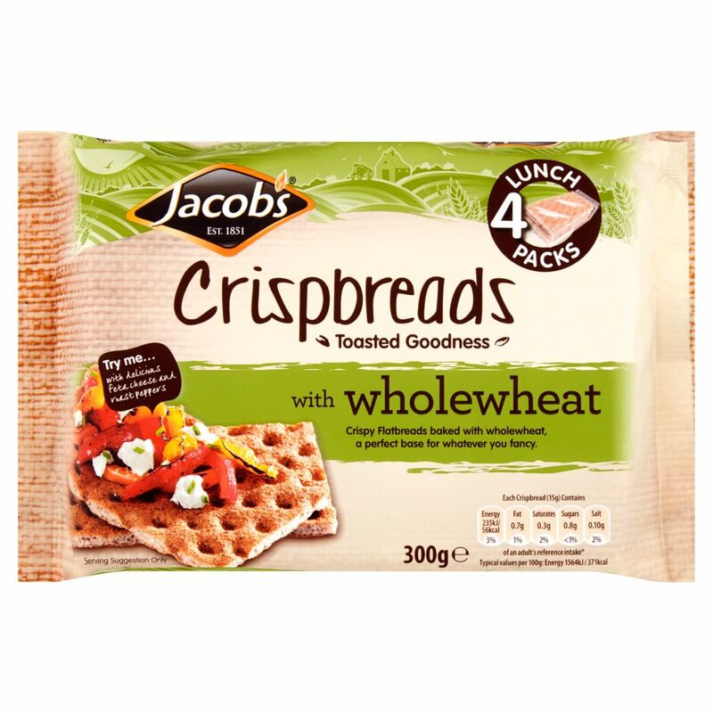Jacob's Crispbread with Wholewheat 300g