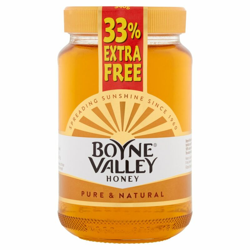 Boyne Valley Honey 340g + 33% Extra Free