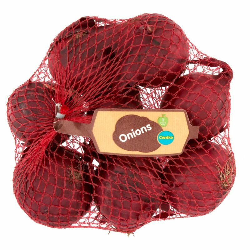 Centra Red Onions 750g
