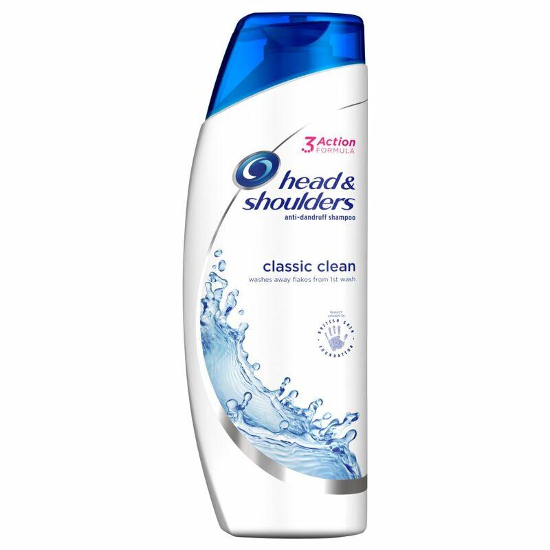 Head & Shoulders Classic Clean Anti-Dandruff Shampoo 500ml
