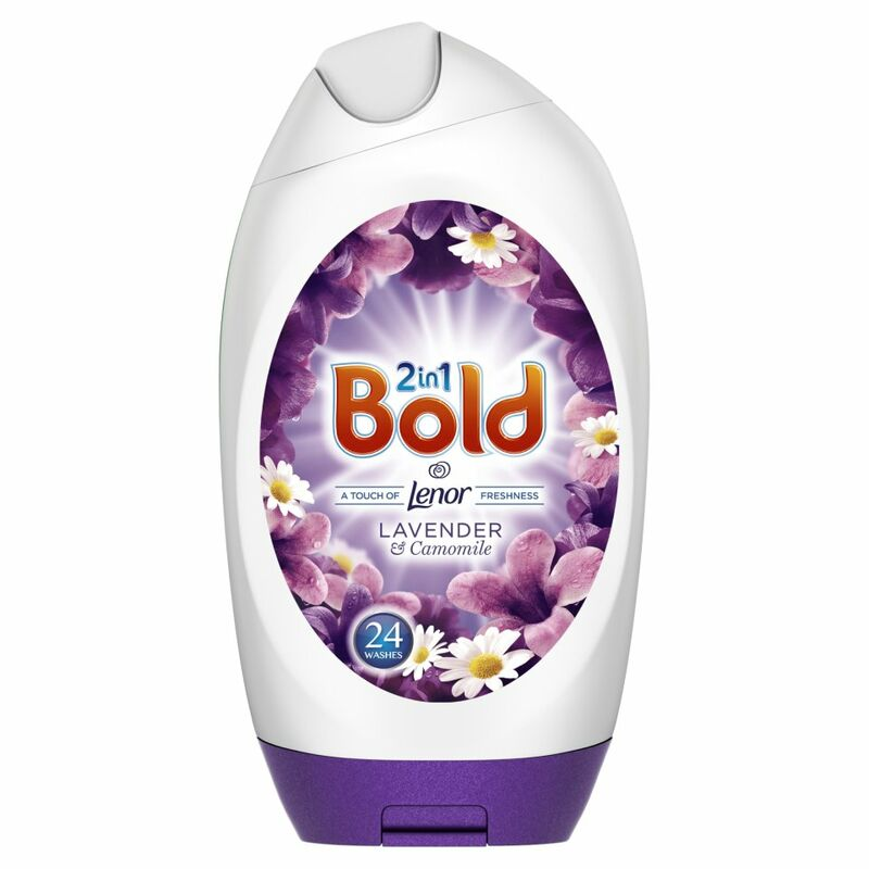 Bold 2in1 Washing Gel Lavender & Camomile 888ml 24 Washes