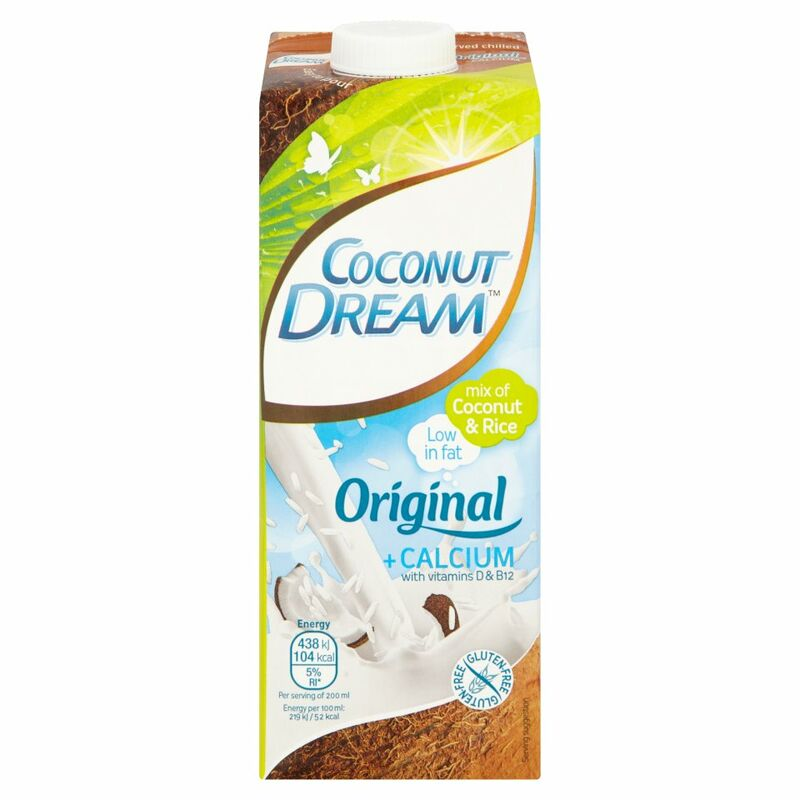 Coconut Dream Original + Calcium with Vitamins D & B12 1L