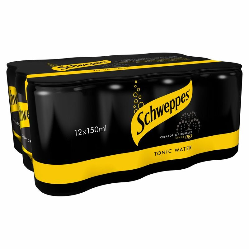Schweppes Tonic Water 12 x 150ml