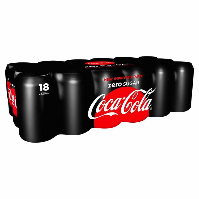 Coke Zero Can Pack 18x330ml - Centra