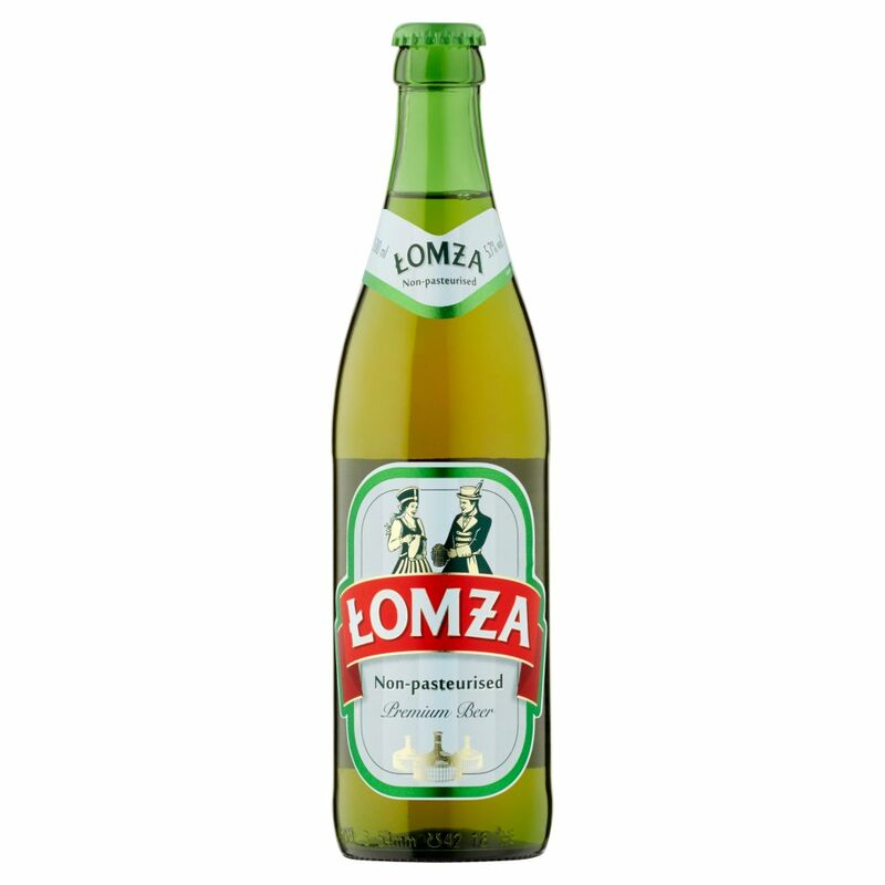 Lomza Non-Pasteurised Premium Beer 500ml
