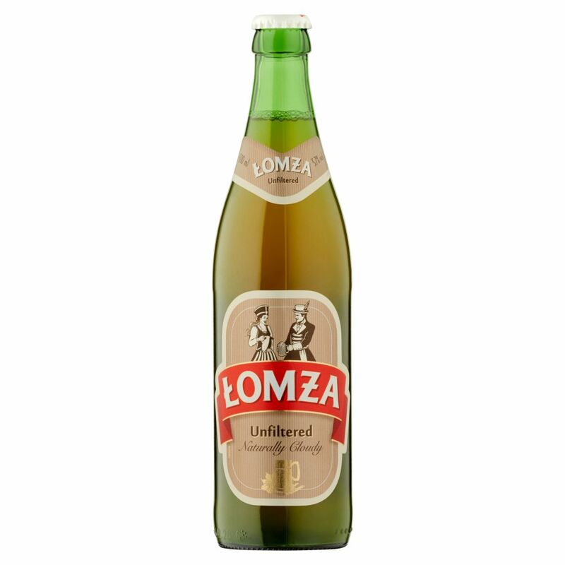 Lomza Unfiltered Naturally Cloudy 500ml