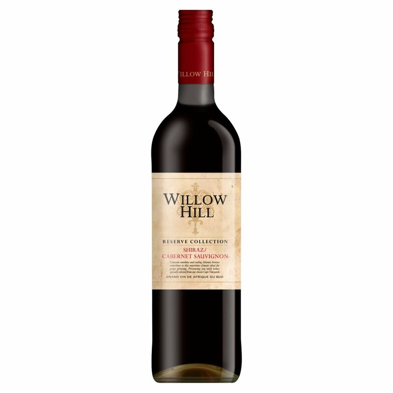 Willow Hill Reserve Collection Shiraz/Cabernet Sauvignon 750ml