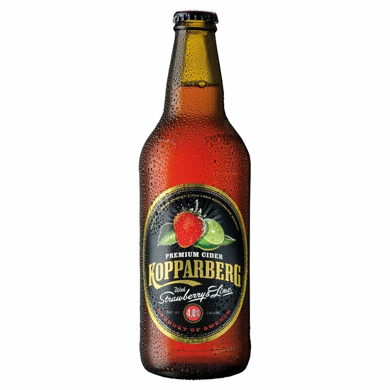 Kopparberg Premium Cider with Strawberry & Lime 500ml