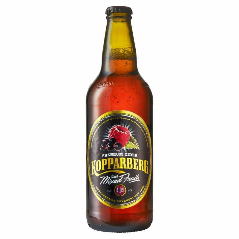 Kopparberg Premium Cider with Mixed Fruit 500ml