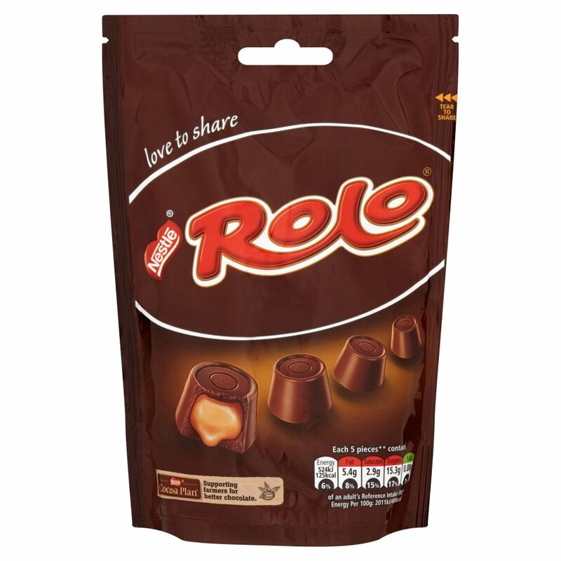 Rolo Chocolate Sharing Bag 126g