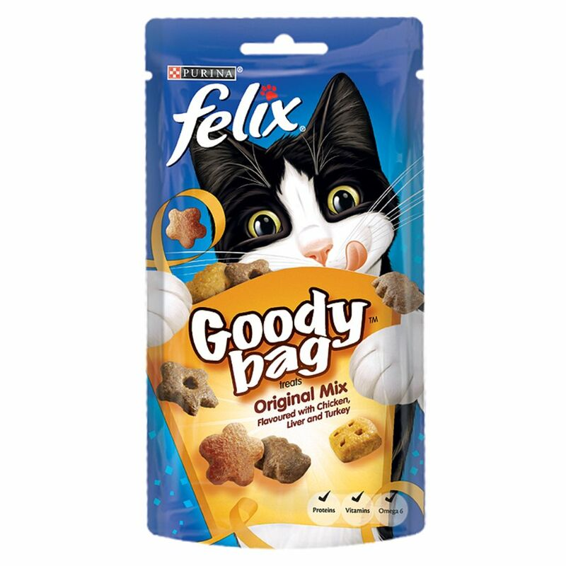 Felix Goody Bag Cat Treat Original Mix 60g
