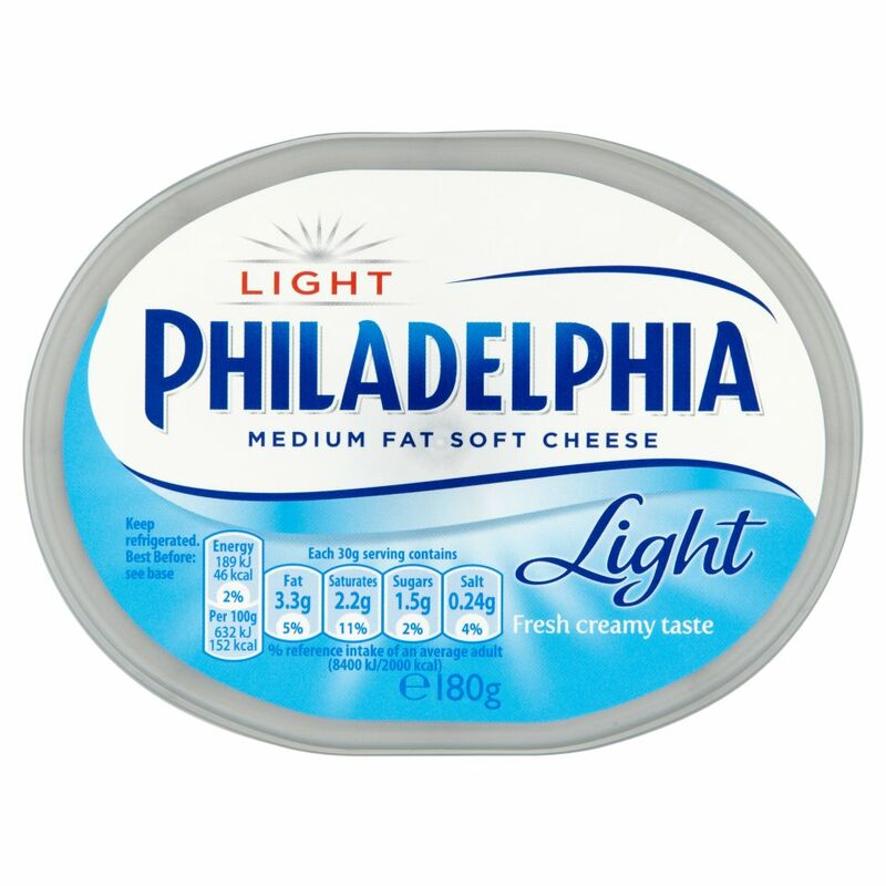 Philadelphia Light Soft White Cheese 180g