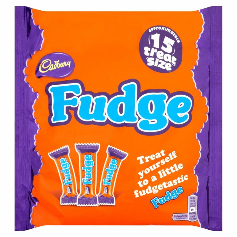 Cadbury Fudge 15 Treatsize Bars 202g