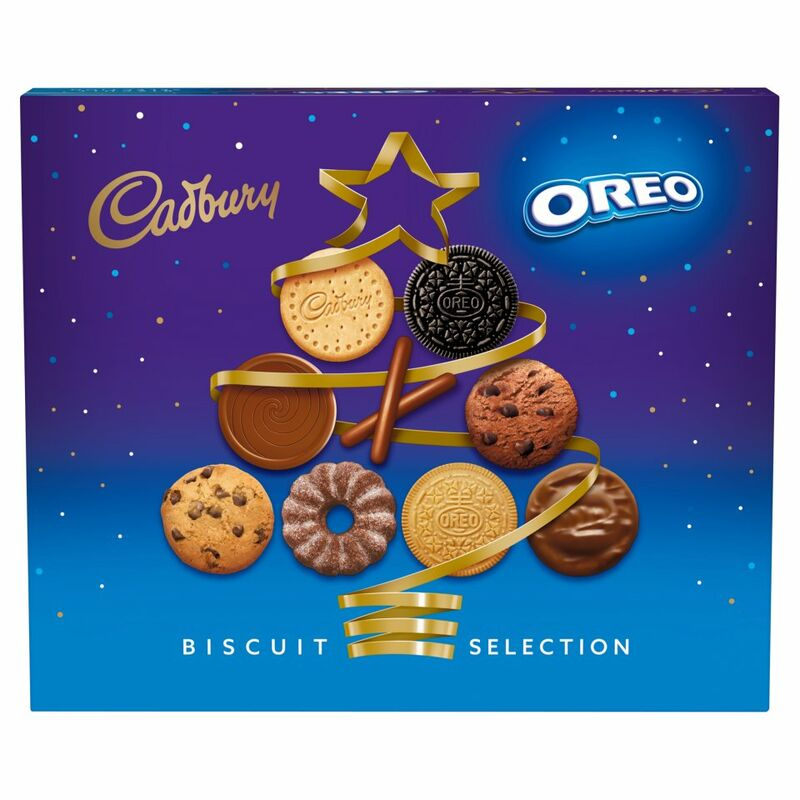 Cadbury & Oreo Biscuit Assortment Carton 500g