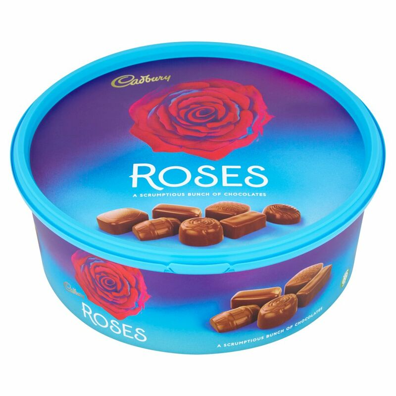 Cadbury Roses Chocolate Tub 660g