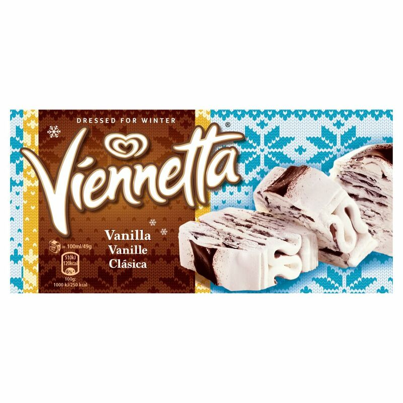 Viennetta Vanilla Ice Cream Dessert 650ml