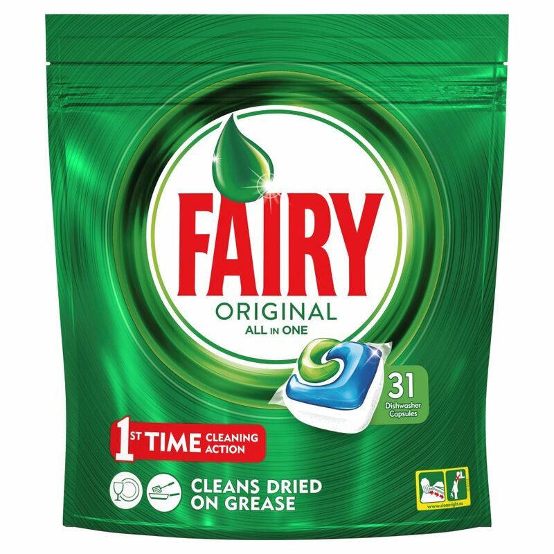 Fairy Original All In One Dishwasher Tablets Regular x31