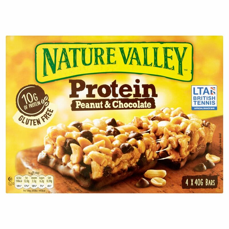 Nature Valley Protein Peanut & Chocolate 4 x 40g (160g)