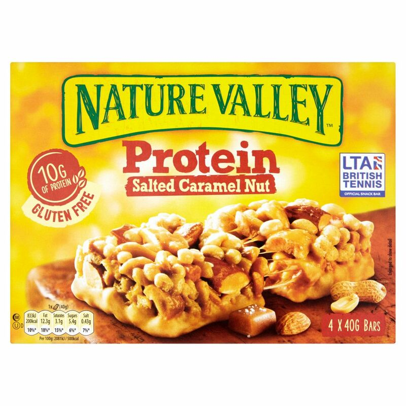 Nature Valley Protein Salted Caramel Nut 4 x 40g (160g)