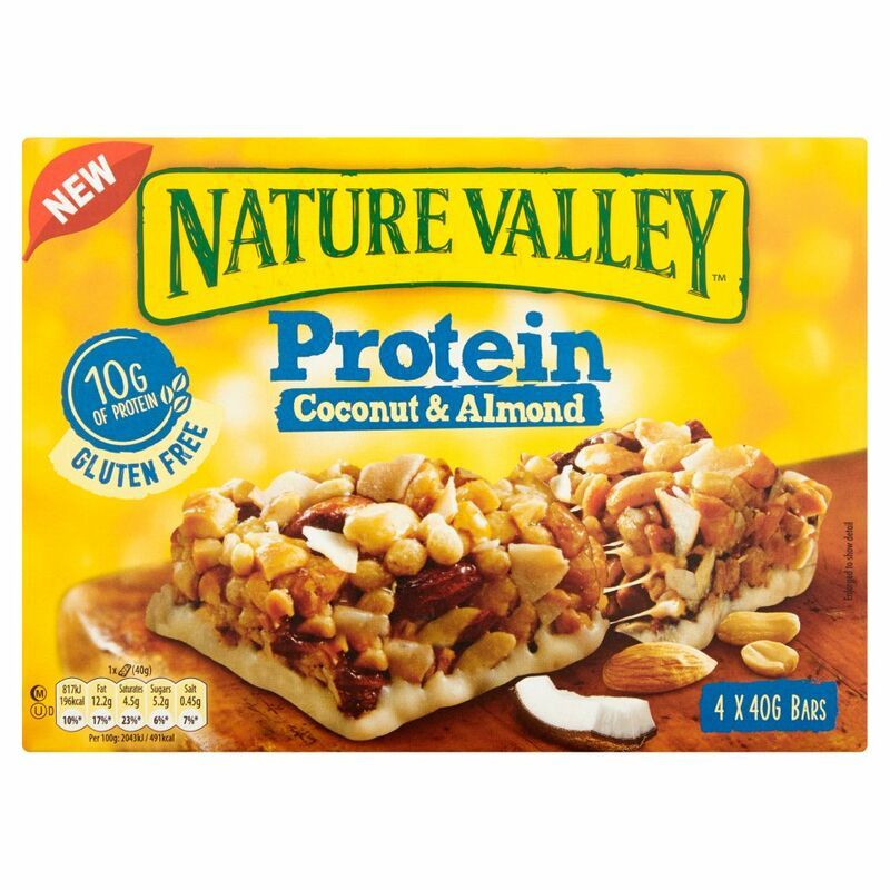 Nature Valley Protein Coconut & Almond 4 x 40g (160g)