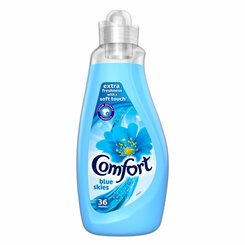 Comfort  Blue Skies Fabric Conditioner 36 Wash 1.26L