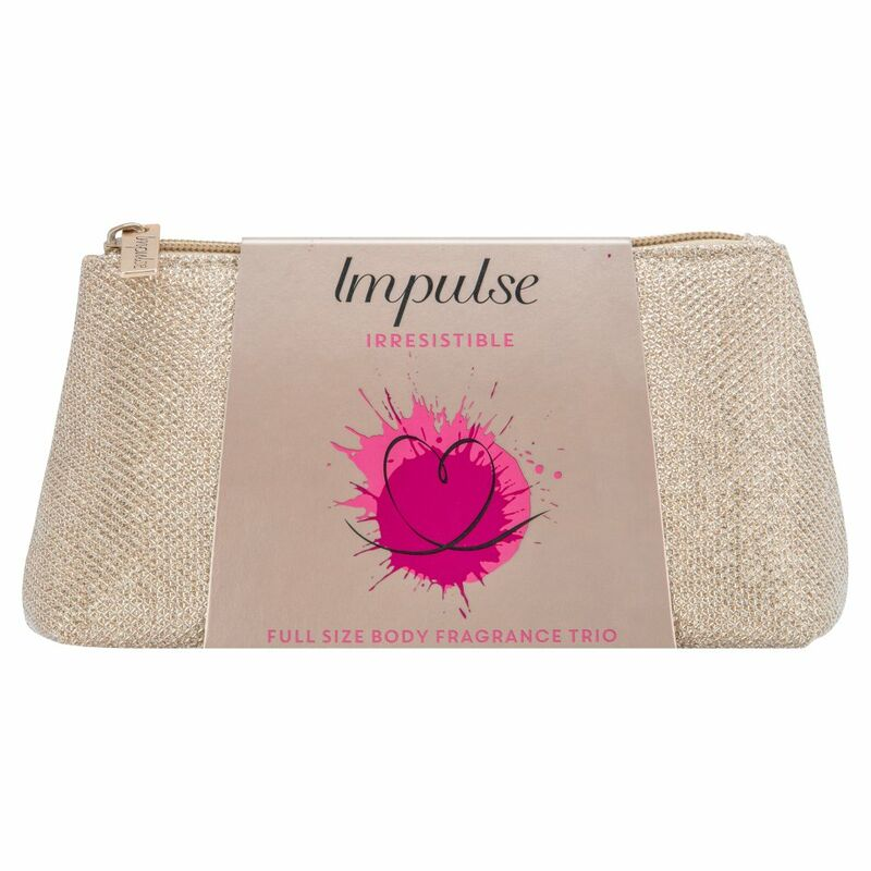 Impulse Irresistible Make-up Bag Gift Set