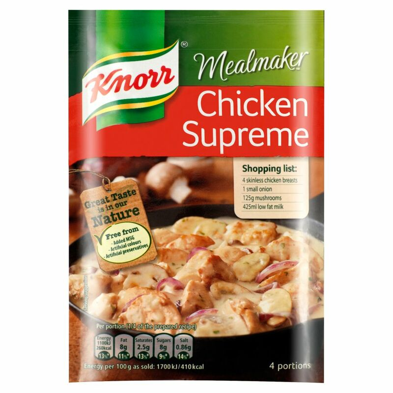 Knorr Mealmaker Chicken Supreme Recipe Mix 40g