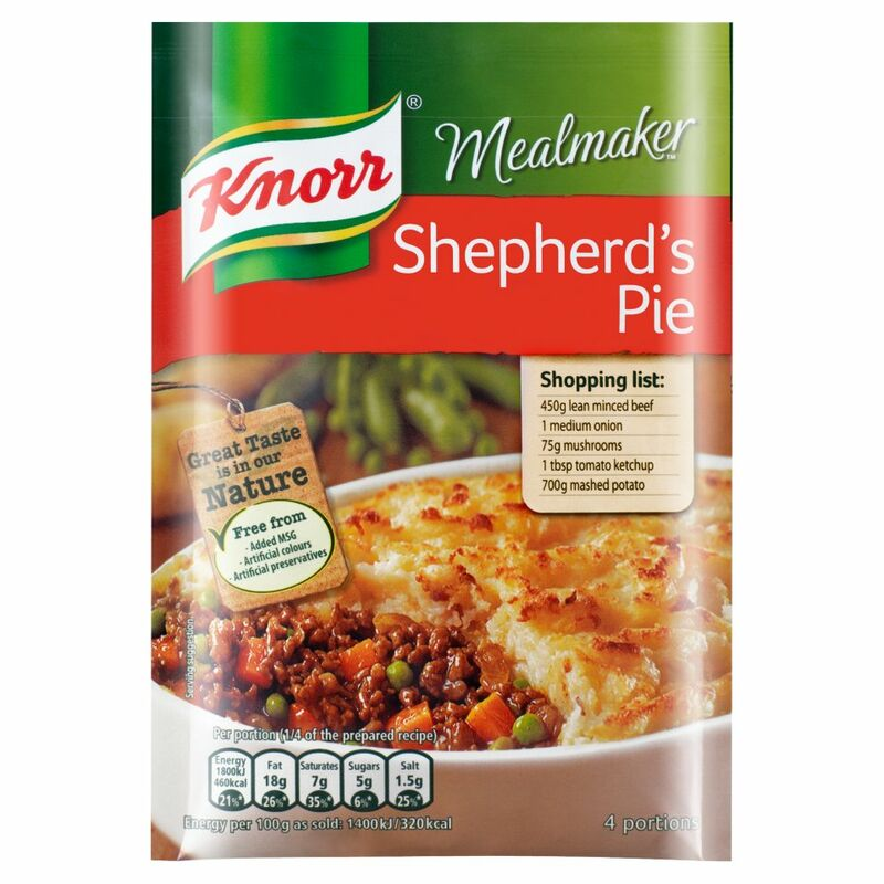 Knorr Mealmaker Shepherd's Pie Recipe Mix 42g