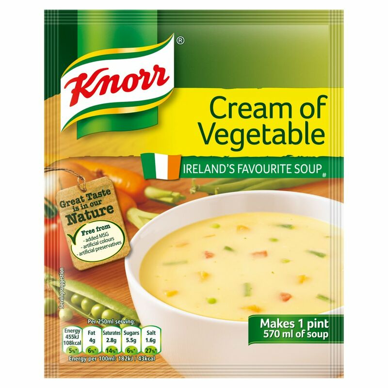 Knorr Soup Sach Cream Vegetable 14x1pt
