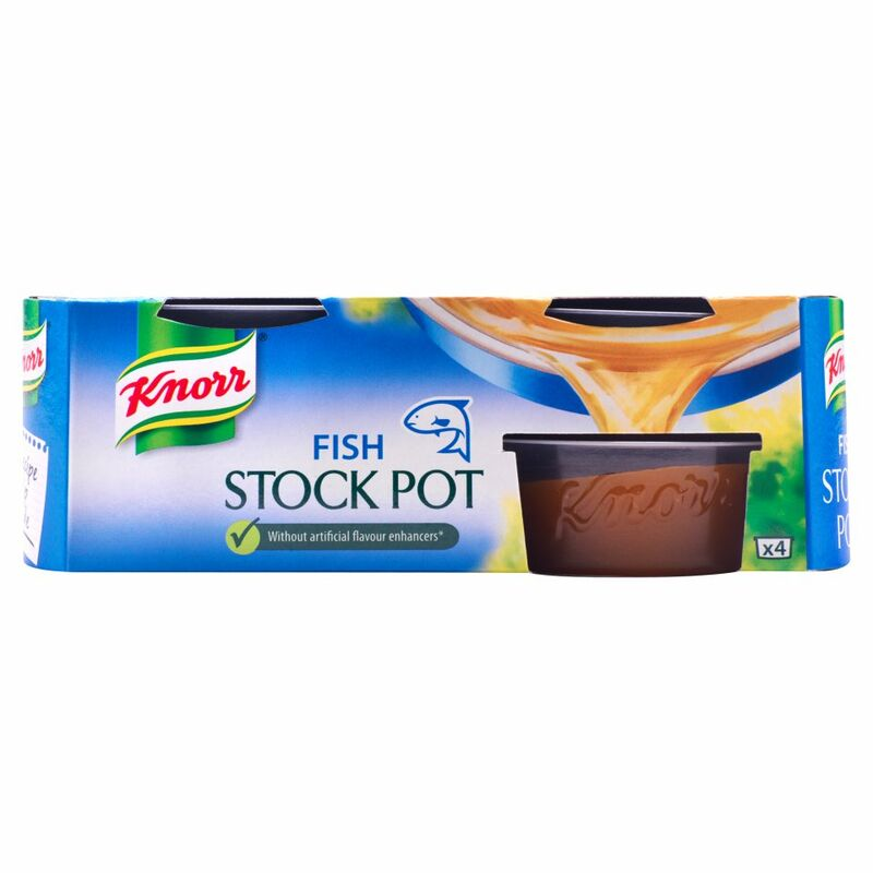 Knorr Fish Stock Pot 4 x 28g (112g)