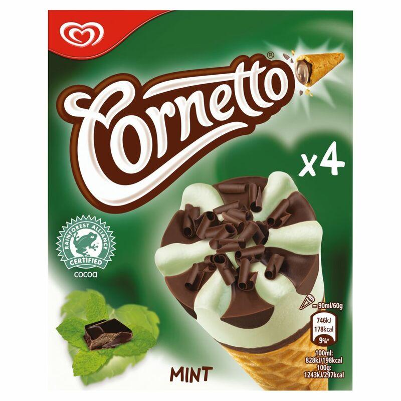 cornetto ice cream products target market
