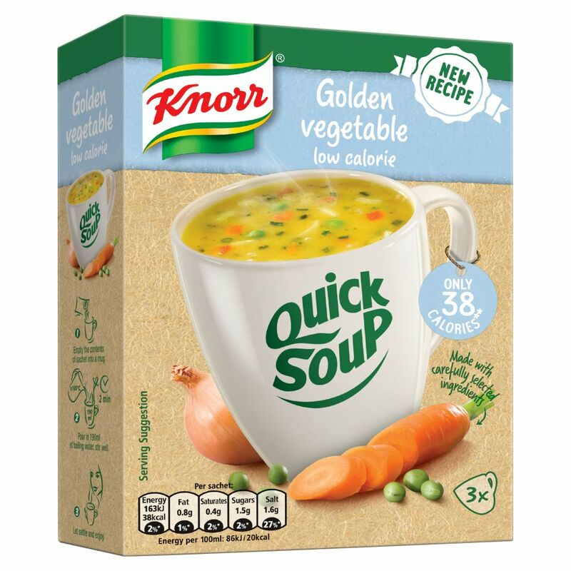 Knorr QS 3s Box Low Cal Vegetable 30g
