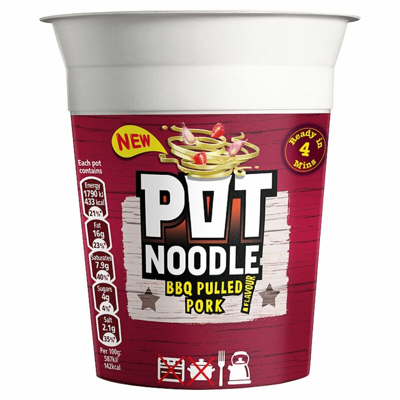 Pot Noodle Pulled Pork 90g