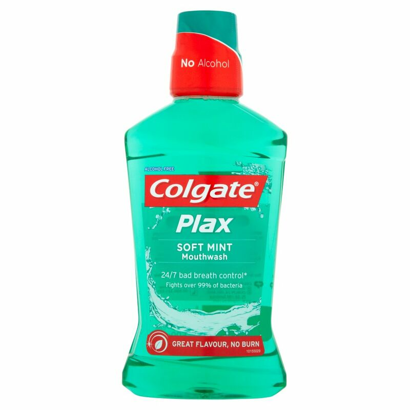 Colgate Plax Soft Mint Mouthwash 500ml
