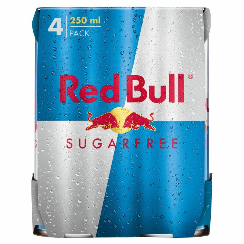 Red Bull Sugarfree 4 x 250ml