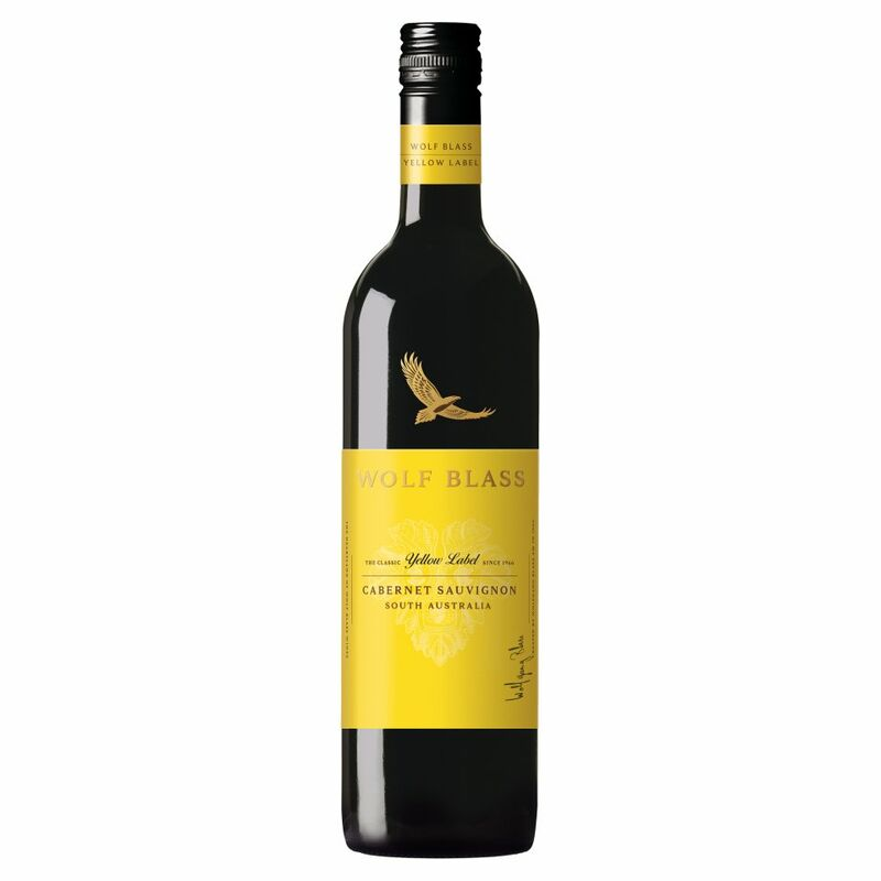 Wolf Blass Yellow Label Cabernet Sauvignon 750ml