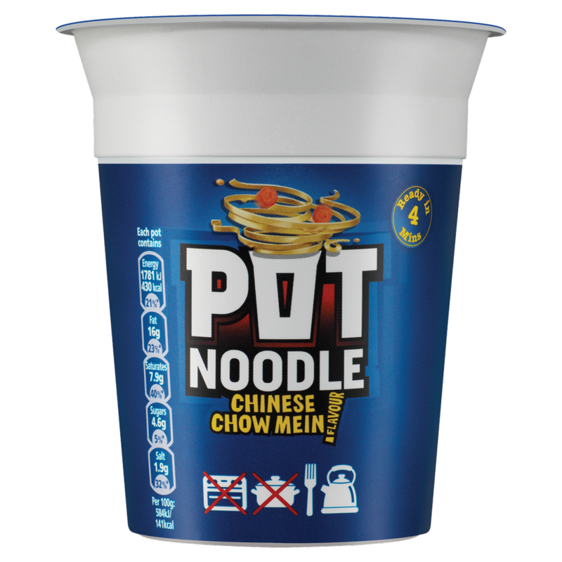 Pot Noodle Chinese Chow Mein 90g