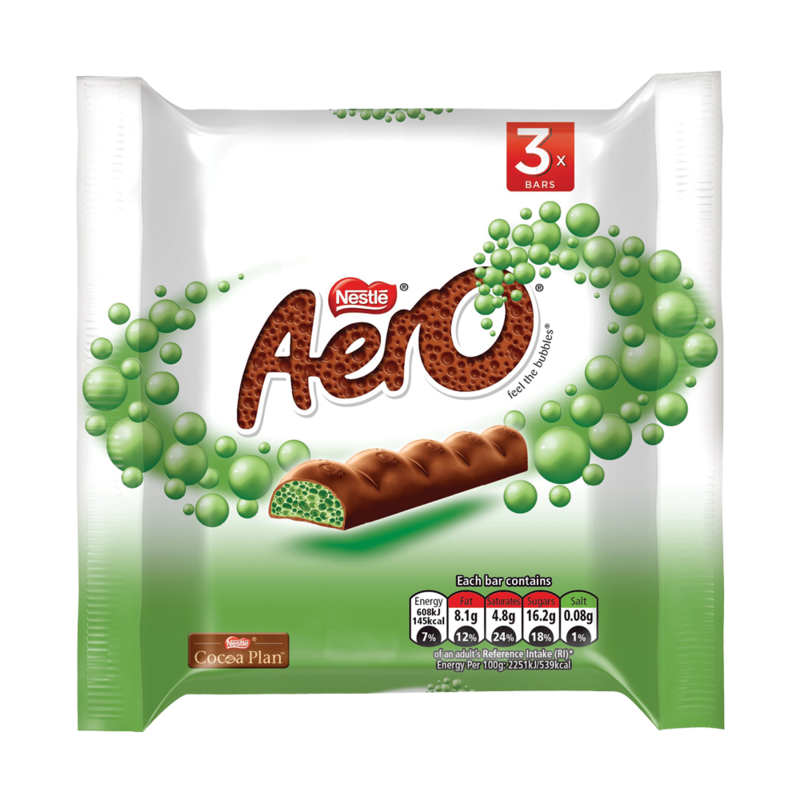 Aero Mint Chunky 3 pack Visual