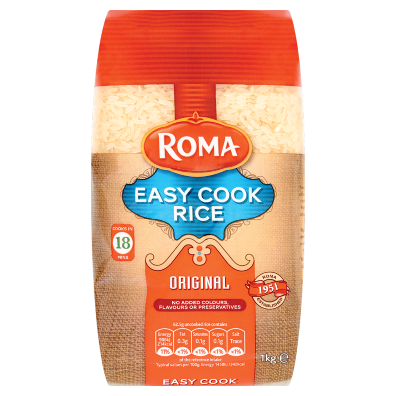 Roma Easy Cook Rice Original 1kg