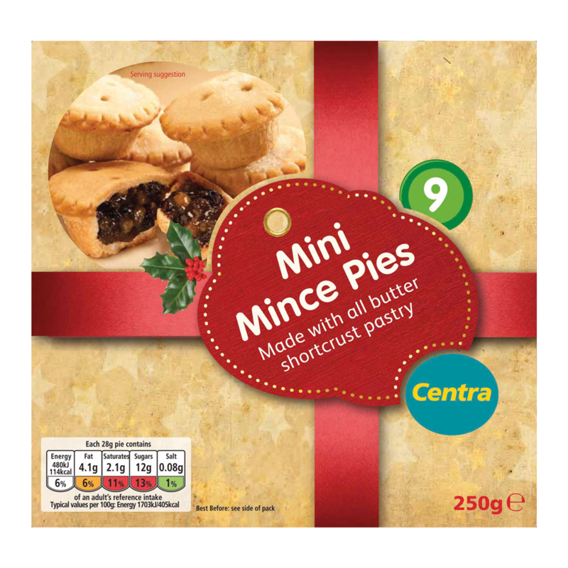 CT 9Mini Mince Pies
