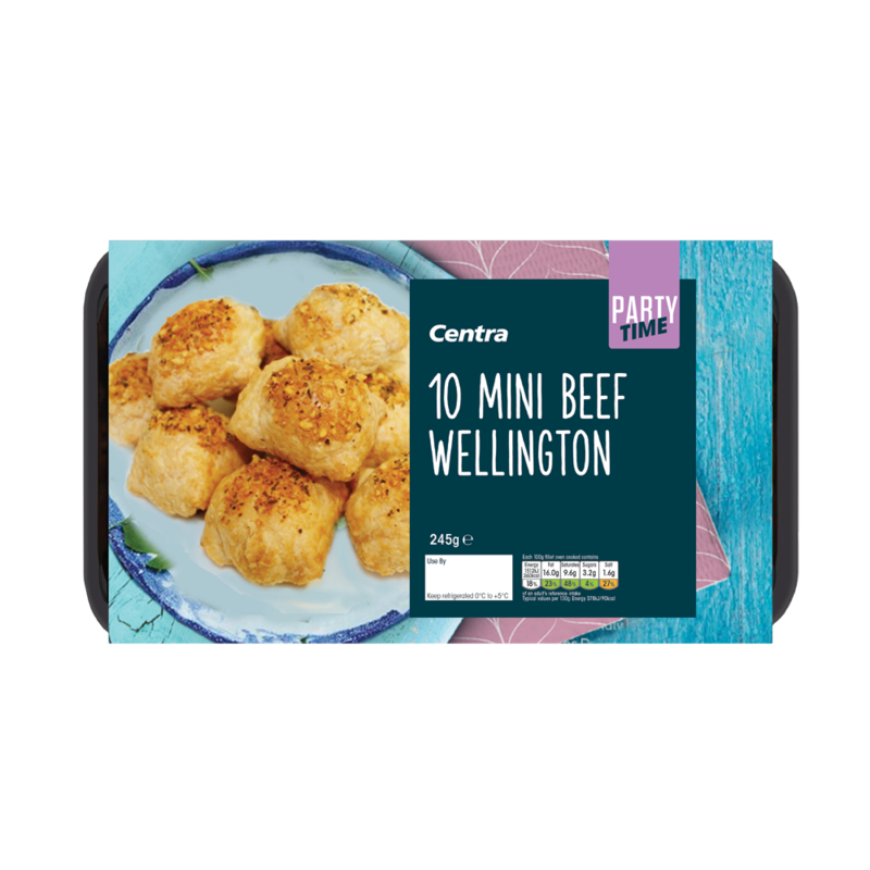 CT Frozen Party Food 10 Mini Beef Wellington
