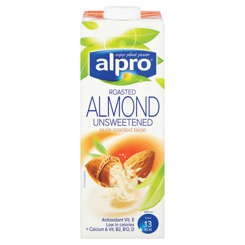 Alpro almond milk