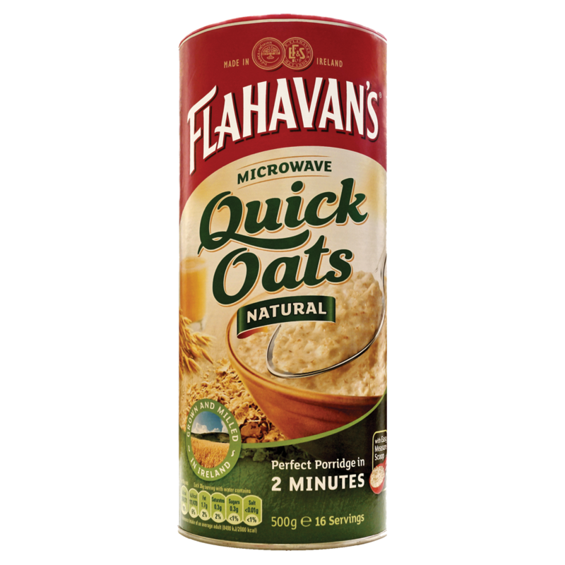 Flahavan quick oats